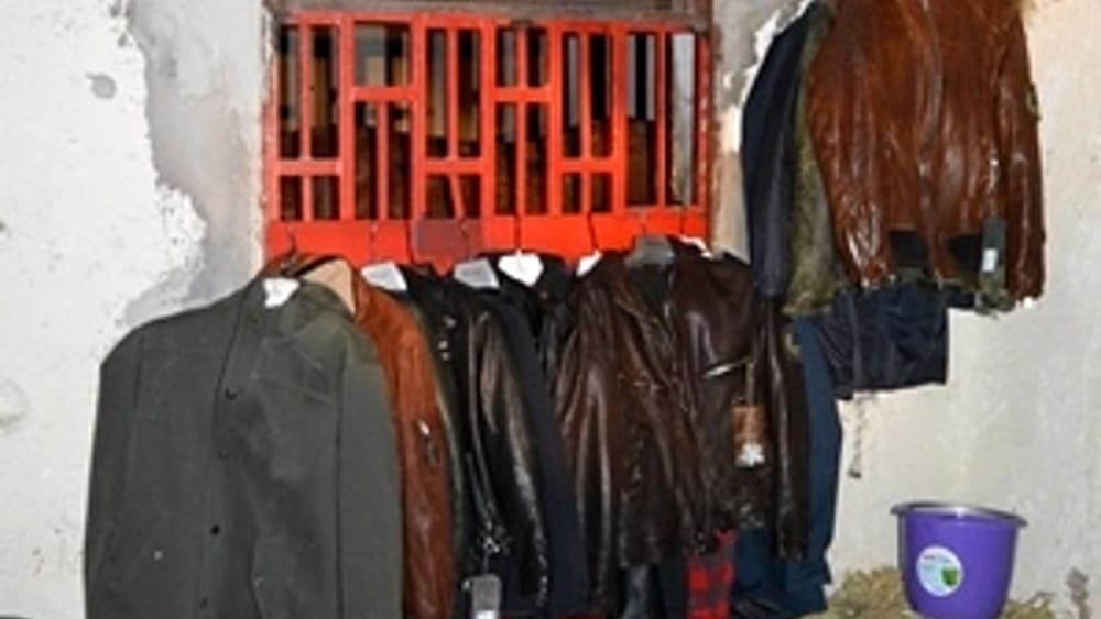 bead23125765 Polizia trova vestiti griffati in una stalla  sequestrato anche un cavallo