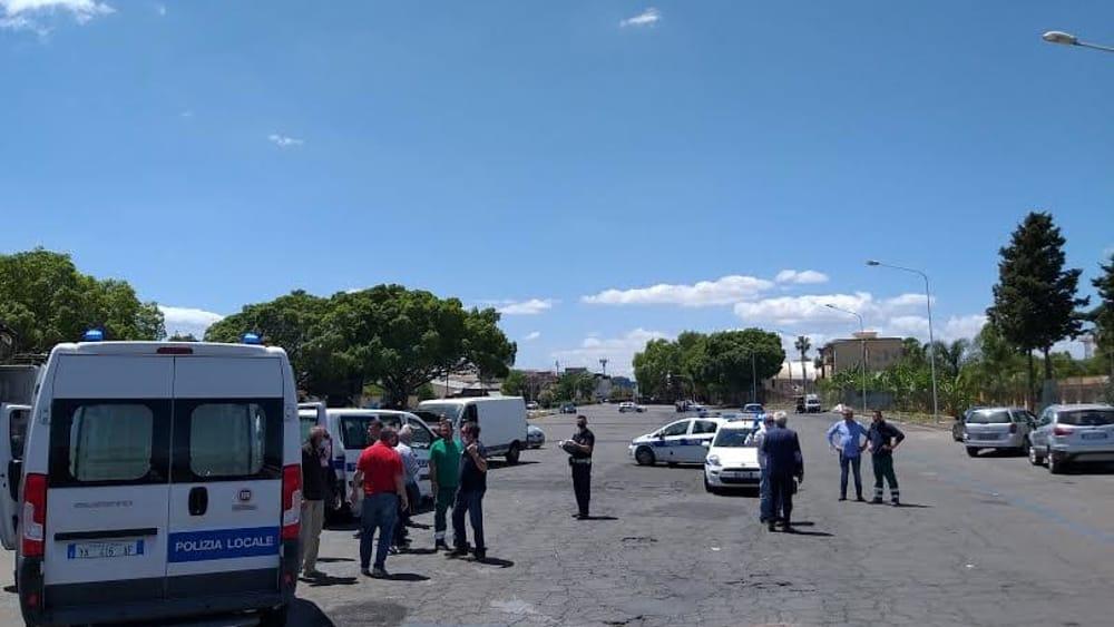 Sgomberato e ripulito il mercato delle pulci di San Giuseppe La Rena