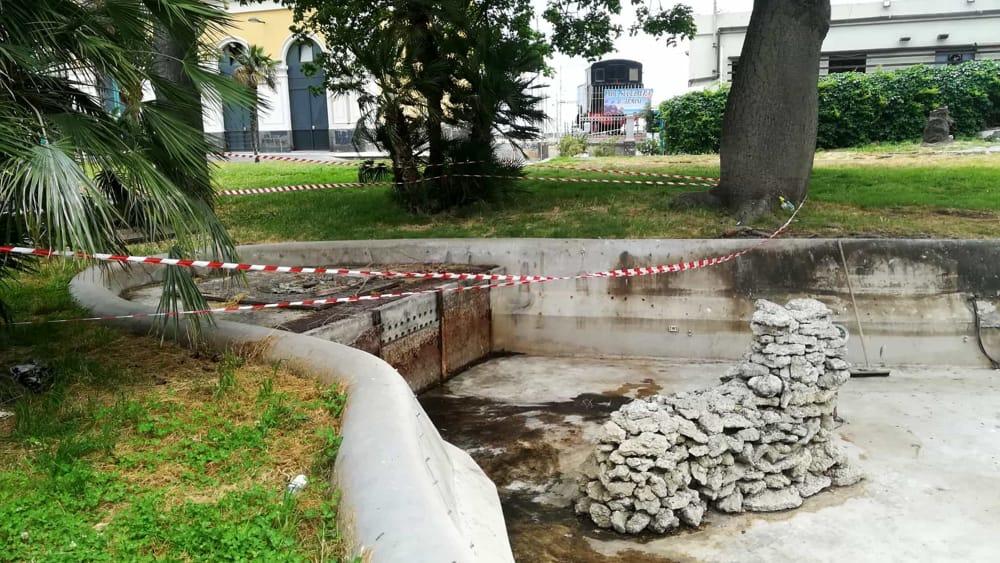 Comune, restyling per la fontana di Proserpina alla Stazione centrale
