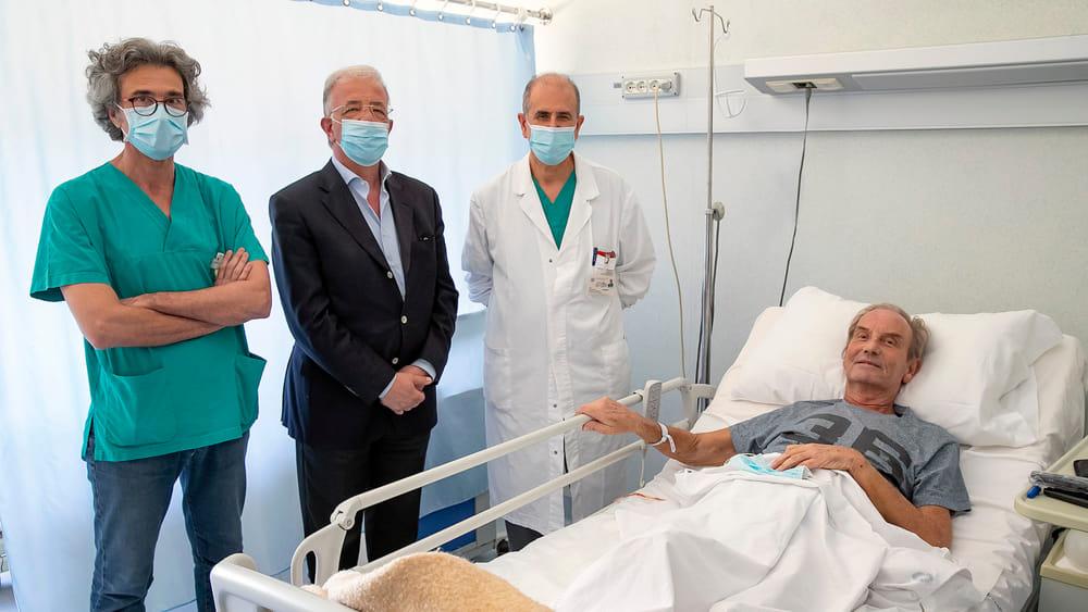 Ospedale Cannizzaro, dimesso paziente svedese ricoverato per covid-19