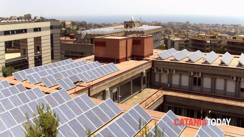 Fotovoltaico gli impianti della cittadella universitaria for Motta arredi ragalna