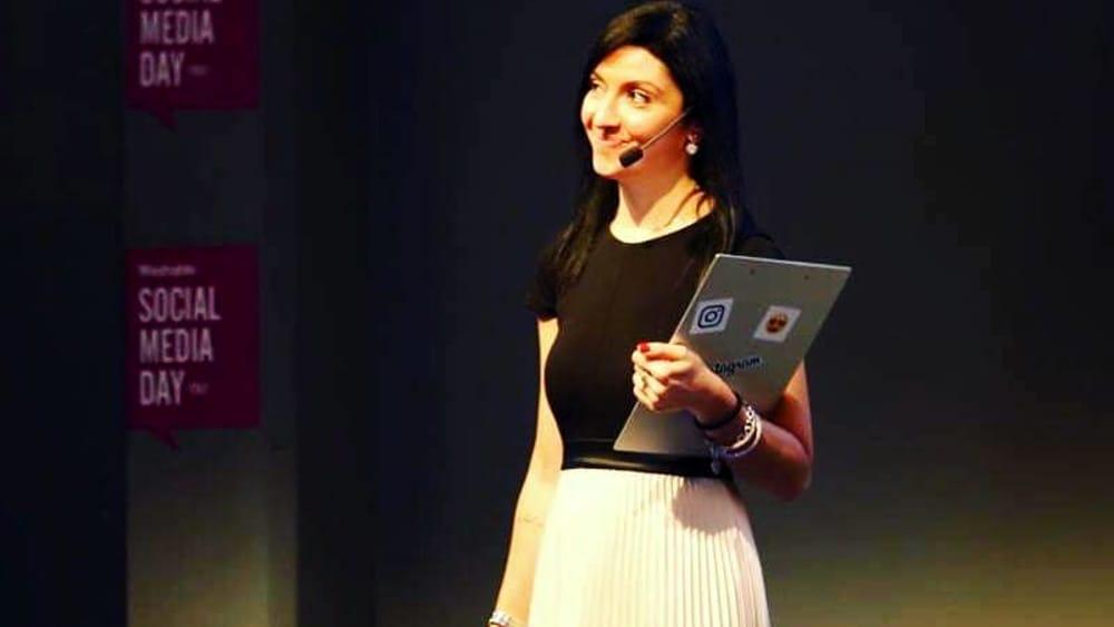 Eleonora Rocca a Catania per parlare di  digital marketing e imprese